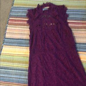 NWT purple low back dress